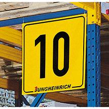 Kunststoff-Nummernschilder, 300x300 - 1000x1000mm