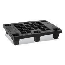 Kunststoff-Palette BASIC. Nestbare Ausführung. LxBxH mm: 800x600x155