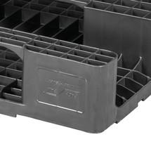 Kunststoff-Palette BASIC, statische Tragkraft 5.000 kg