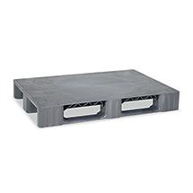 Kunststoff-Palette BASIC.Stapelbare Ausführung. LxBxH mm: 1200 x 800 x 155