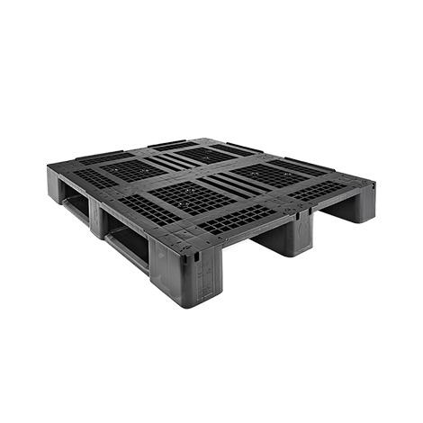 Kunststoff-Palette CRAEMER aus HDPE. Typ D3 ECO. LxBxH mm:1200x1000x150