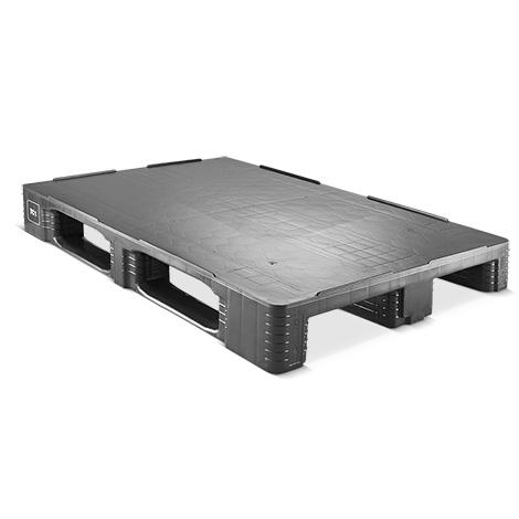 Kunststoff-Palette CRAEMER. Typ TC1-ECO. LxBxH mm: 1200 x 800 x 160