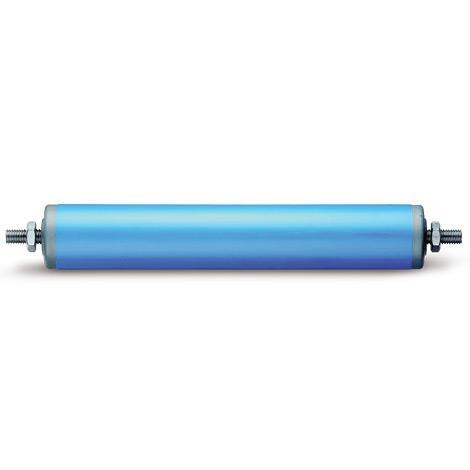 Kunststoff-Tragrollen. Lager: thermoplastischer Kunststoff, Rillenkugellager