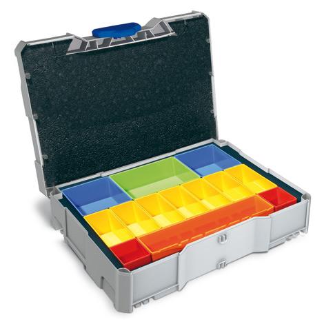 Kunststoffbehälter systainer ® T-Loc Version I mit Boxeneinsatz