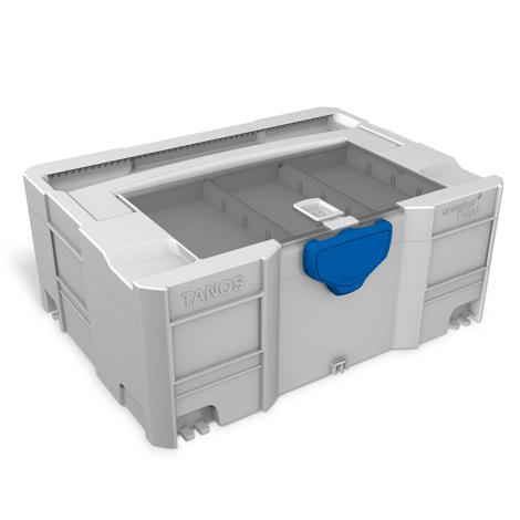 Kunststoffbehälter systainer ® T-Loc Version II mit Deckelsortierfach