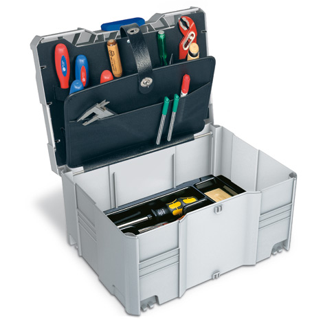 Kunststoffbehälter systainer ® T-Loc Version III mit Werkzeugeinsatz