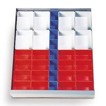 Kunststoffkästen-Einsatz für Werkzeugschränke C+P