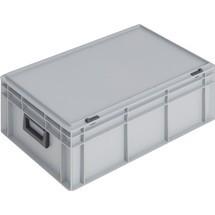 Kunststoffkoffer, 2 Griffe, Schiebeverschluss