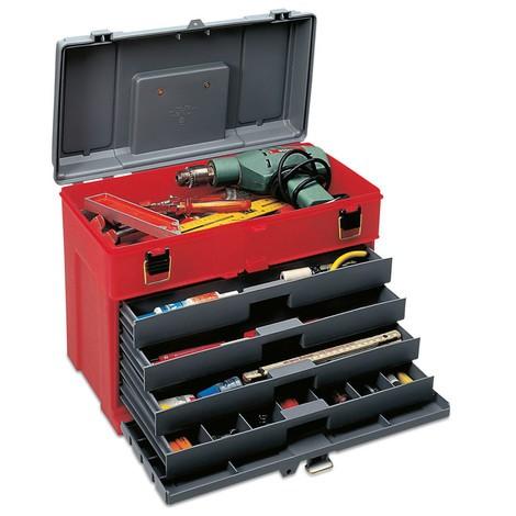 Kunststoffkoffer für Werkzeuge und Kleinteile