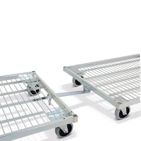 Kupplung für Stahl-Rollbehälter, nachrüstbar