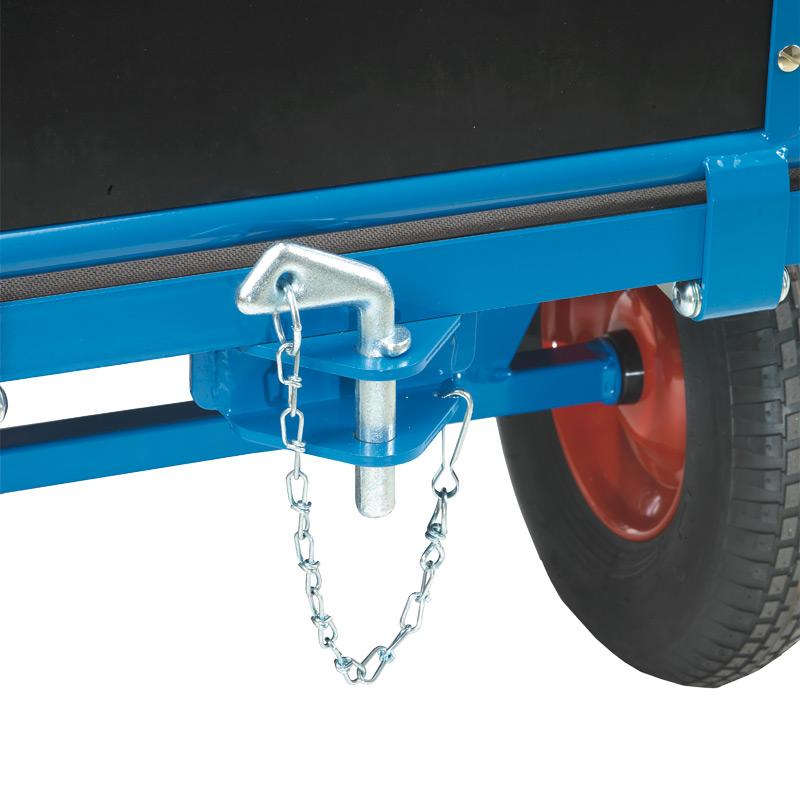 Kupplung hinter für schwere Handpritschenwagen fetra®