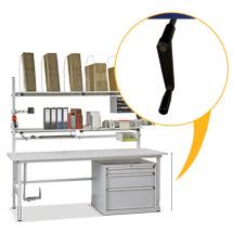 Kurbel-Höhenverstellung für Einzelpacktisch u. Ablagetisch Classic und Multiplex