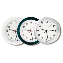 Kwartswandklok Peweta®, wijzerplaat met cijfers + datum