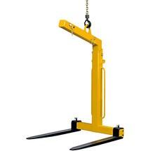 Laadvorken / kraanvorken, automatische gewichtscompensatie, cap. tot 5000 kg