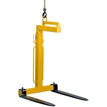 Laadvorken / kraanvorken, handmatige zwaartepuntcompensatie, cap. tot 5000 kg