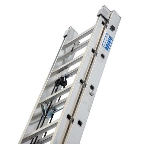 Ladder met touw van KRAUSE®, 2-delig