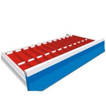 Lade-inzetplaten met vakjes voor gereedschapswagen Maxmobile