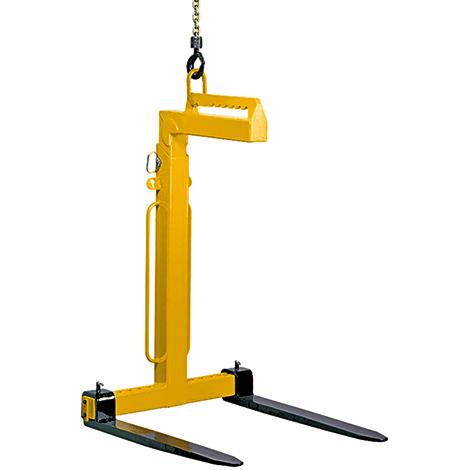 Ladegabeln / Krangabeln, manueller Schwerpunktausgleich, Tragkraft bis 5000 kg