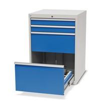 Ladenkast voor CNC-werktuigen, 2 laden, hxbxd 1.019 x 705 x 736 mm