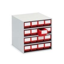 Lådmagasin, 16 lådor