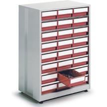 Lådmagasin, 24 lådor