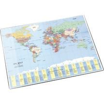 Läufer Schreibunterlage Weltkarte