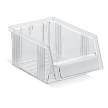 Lagerkasser, transparente