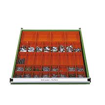 Lagerkastensatz für Schubladenschränke mit 718 mm Breite
