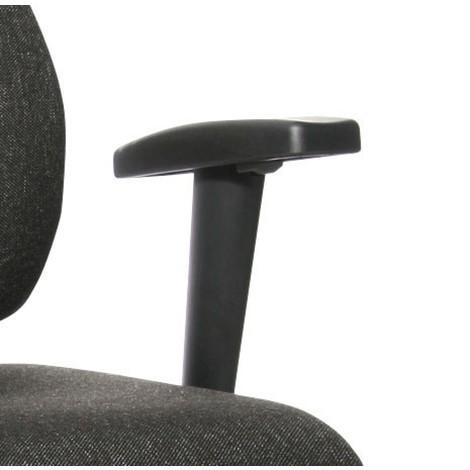 Lakťové opierky tvaru T pre otočnú fitnes stoličku Topstar® X-Pander