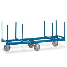 Langmateriaalwagen fetra®. Lengte 2 m, capaciteit 1200 kg