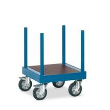Langmateriaalwagen fetra®. Lengte 70 cm, capaciteit 1500 kg