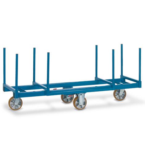 Langmaterialwagen fetra®. Länge 2 m, Tragkraft 1200 kg