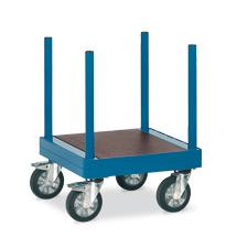 Langmaterialwagen fetra®. Länge 70 cm, Tragkraft 1500 kg