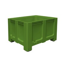 Large polyethylene container, 610 litres, with feet