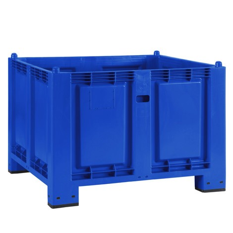 Large polypropylene container, 550 litres, with feet