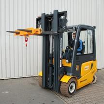 Lasthaak voor heftruck. Capaciteit tot 7500 kg