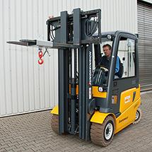 Lasthaken für Gabelstapler + Kran. Tragkraft bis 1000 kg