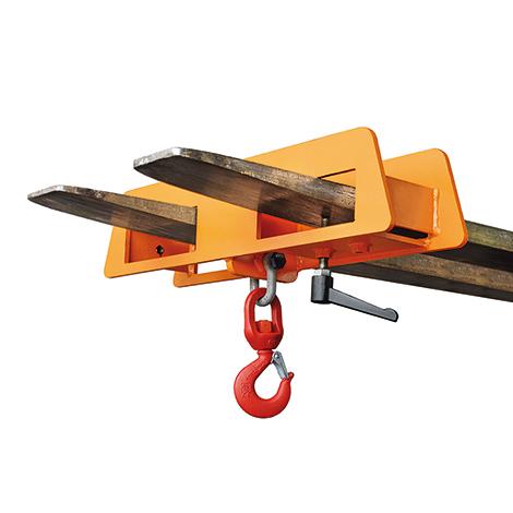 Lasthaken für Gabelstapler. Tragkraft bis 7500 kg