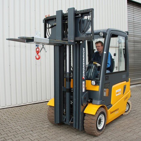 Lastkrog til gaffeltruck og kran, galvaniseret