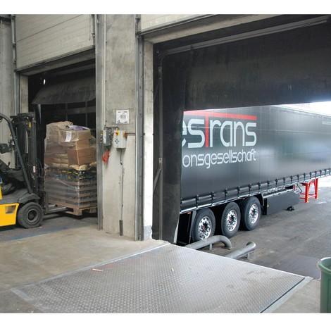 Laststöd för lastbilar
