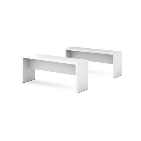 Lavička pro zasedací stůl, 2 ks/su