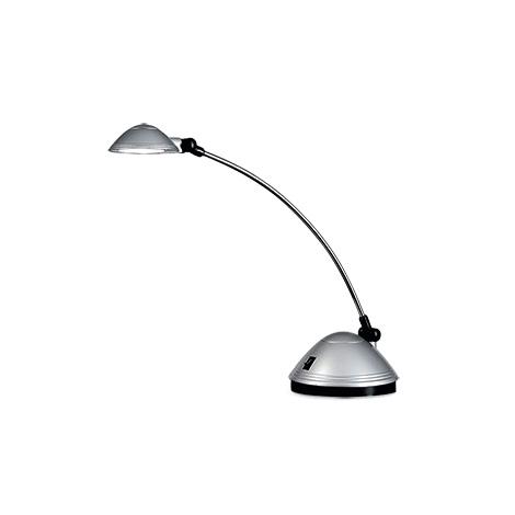 LED-Tischleuchte Saturn silber