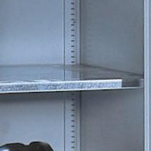 Legborden voor schuifdeurkasten. Breedte 1200 of 1600 mm