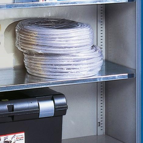 Legborden voor zwaarlastkasten met opensl. deuren, cap. 700kg
