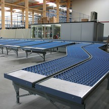 Leicht-Röllchenbahn, Kunststoffröllchen