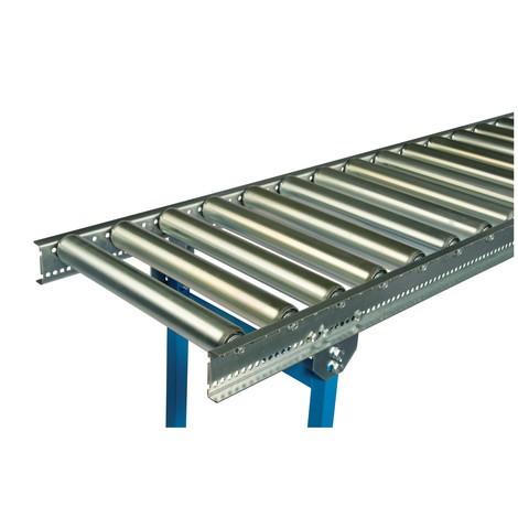 Leicht-Rollenbahn, Stahlrohrrollen