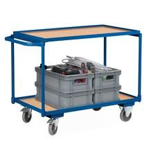 Leichter Tischwagen VARIOfit®, 2 Etagen