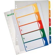 LEITZ PC-Kunststoffregister Zahlen