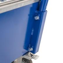 Lekbak Steinbock® voor vaten van 200 liter, verrijdbaar