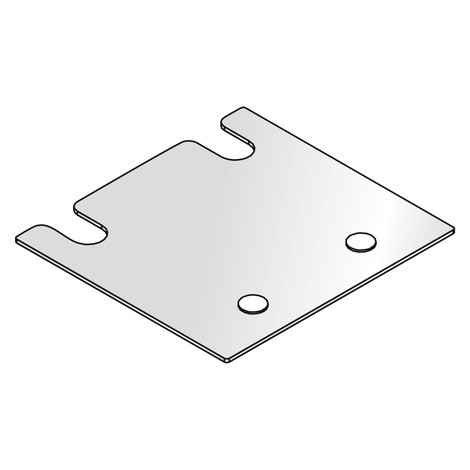 Levelling plate for META MULTIPAL pallet rack